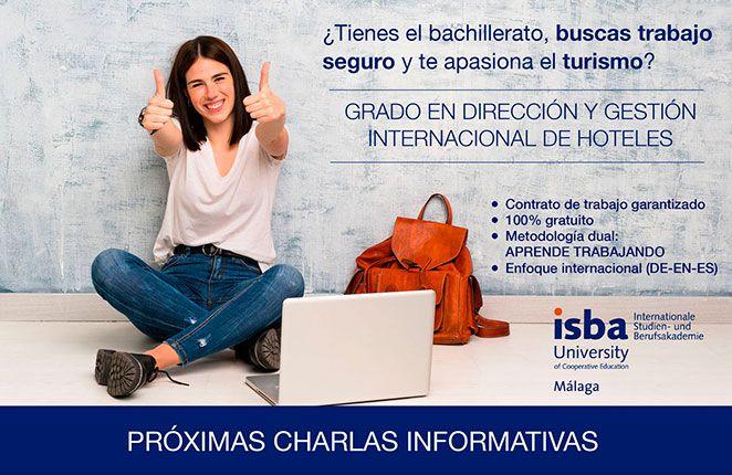Charlas Informativas | Grado Dirección y Gestión Internacional de Hoteles