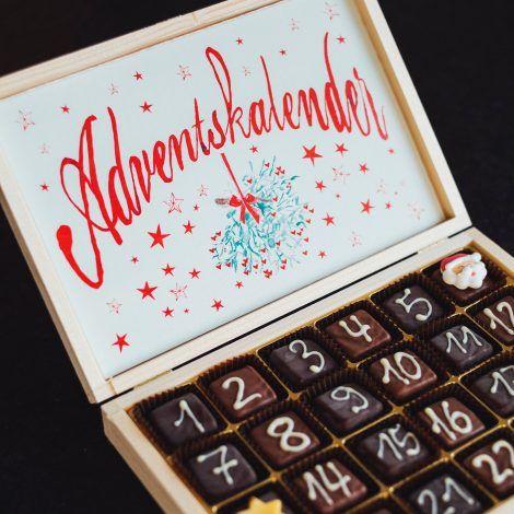 Calendario de adviento casero en Alemania