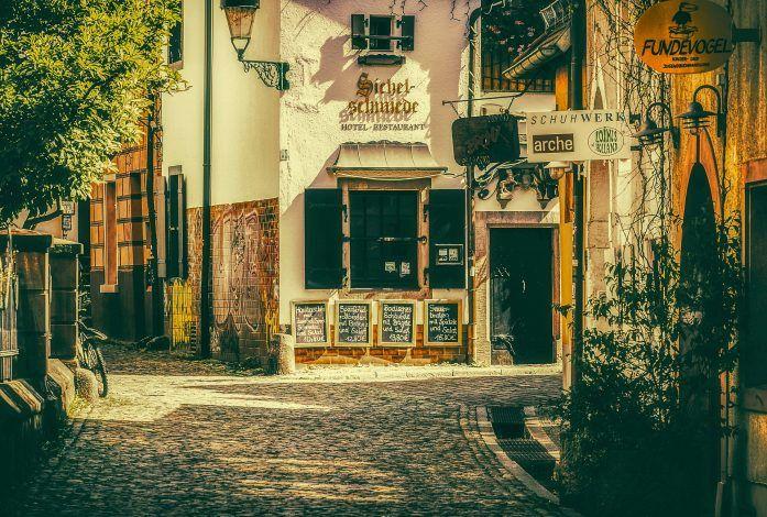 Calles del casco histórico de Freiburg