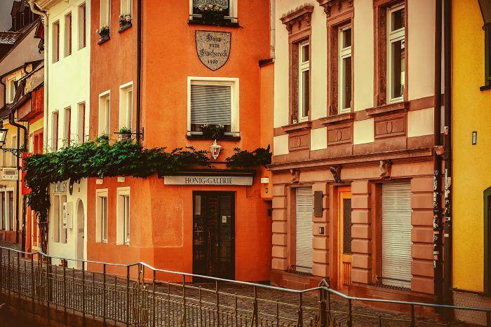 Calle del centro de Freiburg
