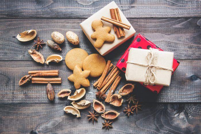 Galletas en Navidad